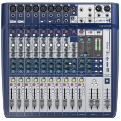 SOUNDCRAFT - Mezclador 12 canales