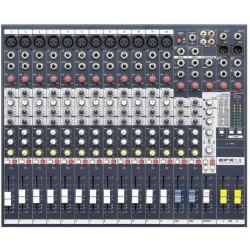 SOUNDCRAFT - Mezclador 12 Canales con Efectos
