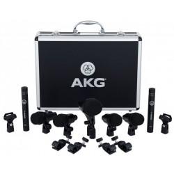 AKG - Set Micrófonos Percusión