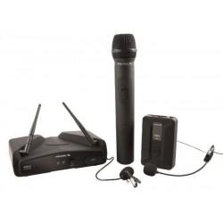 PROEL - Sistema Inalambrico Cintillo/Mano/Solapa VHF