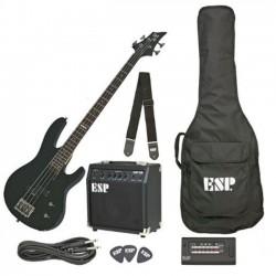 LTD - Pack de bajo Eléctrico, , color negro