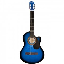 VIZCAYA - Guitarra clásica color blue burst (UB)
